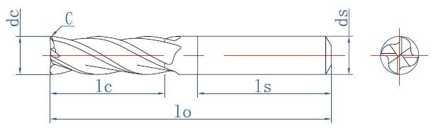 制作刀具尺寸图纸